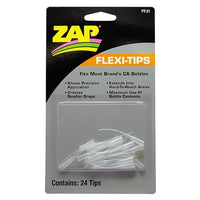 ZAP GLUE - ZAP FLEXI-TIPS (24)