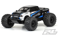 PROLINE RACING - PRE-PAINTED / PRE-CUT SENTINEL BODY, BLACK, FOR PRO-MT 4X4