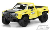 PROLINE RACING - 1978 CHEVY C10 RACE TRUCK CLEAR BODY, FOR TRAXXAS SLASH 2WD, SLASH 4X4, & SC10
