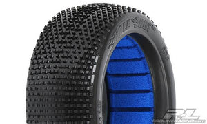 PROLINE RACING - HOLE SHOT 2.0 S3 OFF-ROAD 1/8 BUGGY TIRES, SOFT, FOR FRONT/REAR (2PCS)