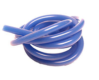 RACERS EDGE - 100CM SILICONE FUEL TUBING SOLID BLUE