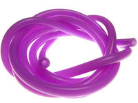 RACERS EDGE - 100CM SILICONE FUEL TUBING SOLID PURPLE