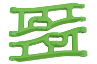 RPM - Wide Front A-arms for the Traxxas e-Rustler & Stampede 2wd - Green