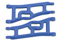 RPM - Wide Front A-arms for the Traxxas e-Rustler & Stampede 2wd - Blue
