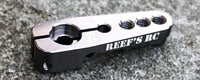 Reef's RC - Aluminum Servo Horn - Gray, 25 Tooth Spline