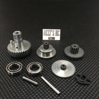 Reef's RC - 422 Servo Gear Set, w/ Dual Bearings