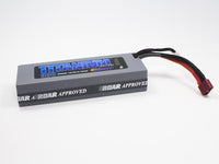 Trinity - 2S 7.4V 5500MAH 50C Battery Pack, w/ T-Plug (Deans Type)