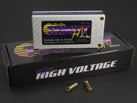 Trinity - High Voltage Battery Pack, 1S 3.7v 6500mah 100c, w/ 5mm Bullets