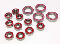 Trinity - Ceramic Ball Bearing Set, for Xray T4 Touring Cars (14pcs)