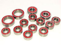 Trinity - Ceramic Ball Bearing Set, for TLR 22 4.0 Buggy (14pcs)