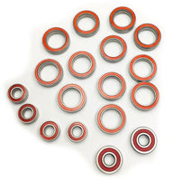 TRINITY - CERAMIC BEARING SET, FOR ASSOCIATED B64 (18PCS)