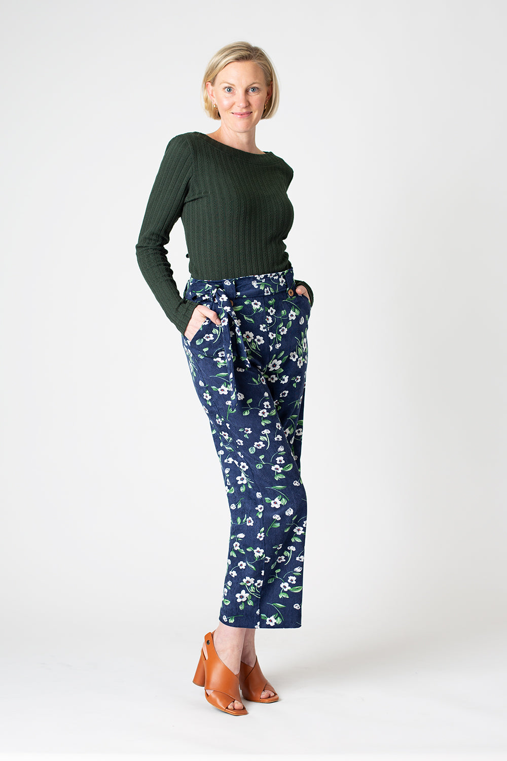 Chelsea Pant, Navy Pansy