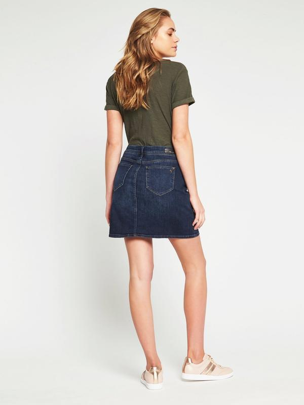 Mavi Alice Skirt, Indigo Gold