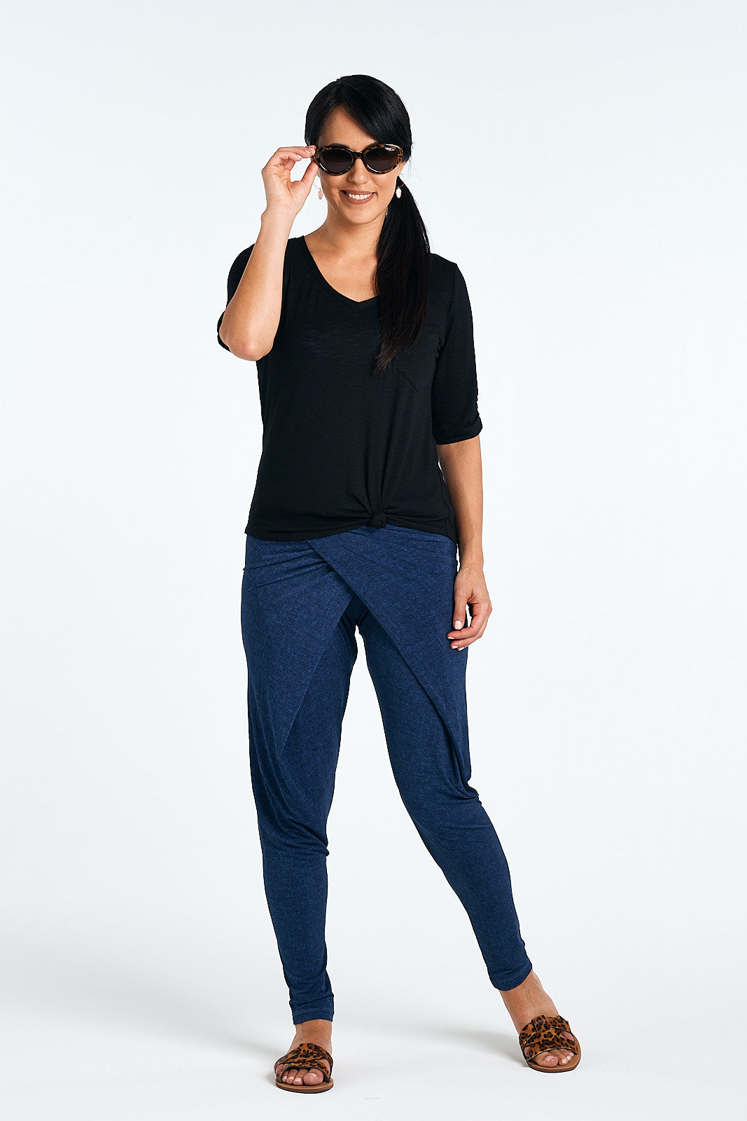 Kaya Pants, Denim Twill