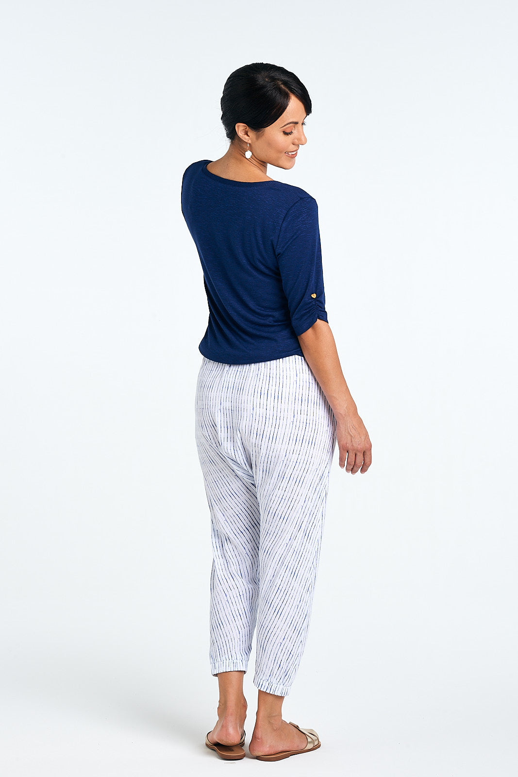 Indie Pant, Ink Stripe