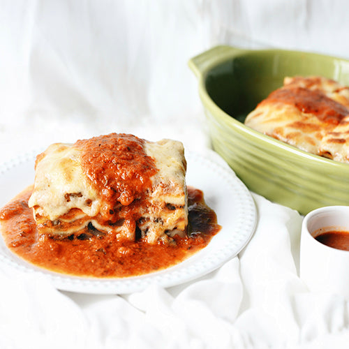 Vegetable Lasagne (4 portions)