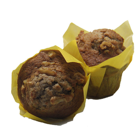 Banana Walnut Muffin (4 pieces)