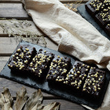 Black & White Brownie Tray (10 pieces)