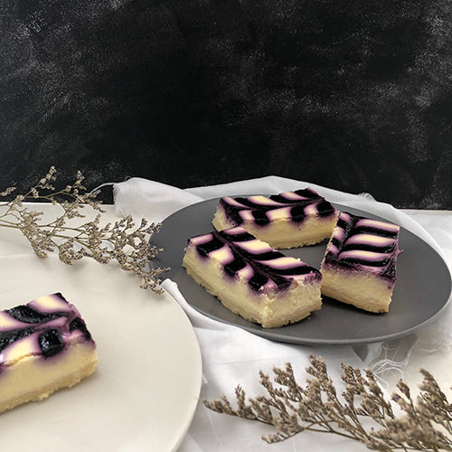 Blueberry Cheesecake Tray (10 pieces)