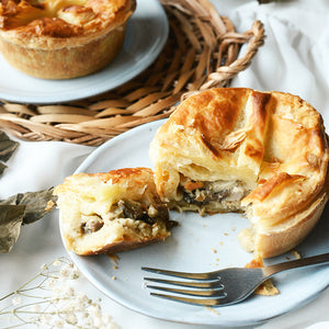 Chicken and Mushroom Pie (6 pieces)