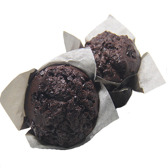 Double Chocolate Chip Muffin (4 pieces)