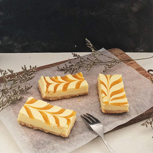 Mango Cheesecake Tray (10 pieces)
