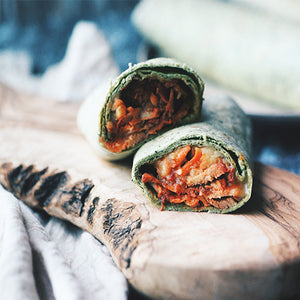 Tandoori Chicken Basil Wrap (6 pieces)