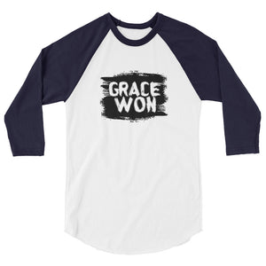 Awesome, t-shirt 3/4 sleeve raglan shirt