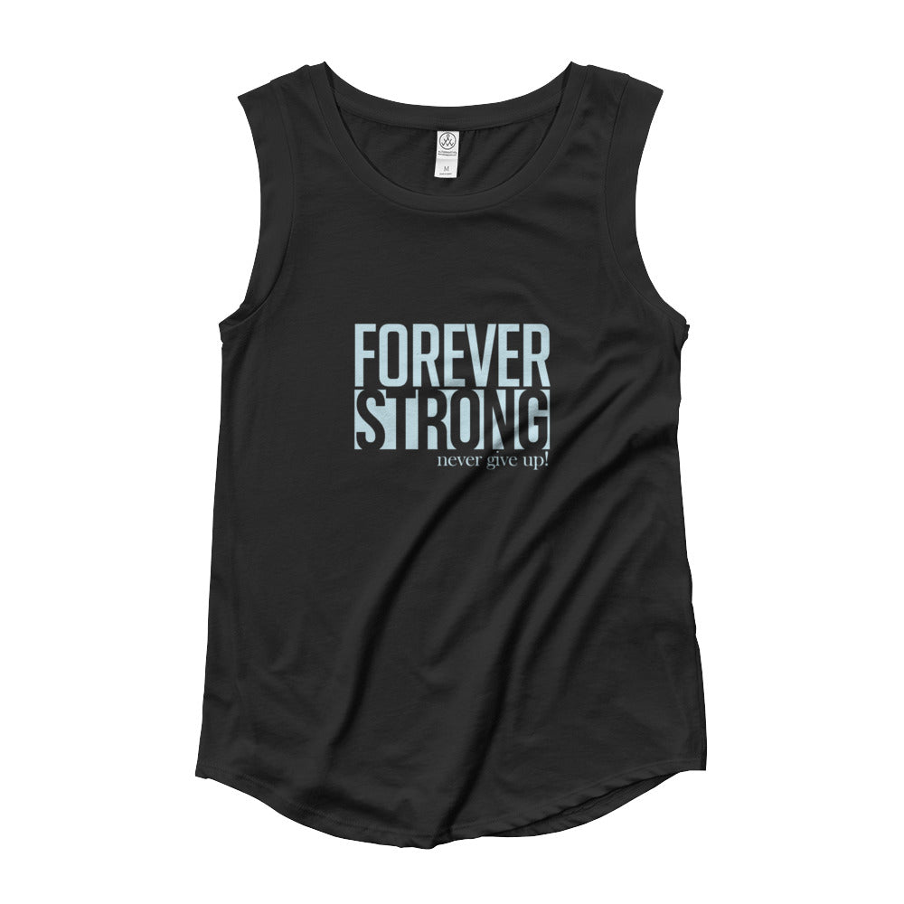 Forever strong Ladies' Cap Sleeve T-Shirt