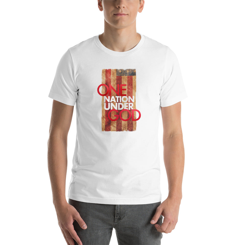 One nation under God Short-Sleeve Unisex T-Shirt