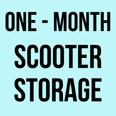 One-Month Scooter Storage