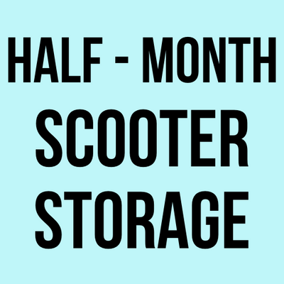 Half-Month Scooter Storage