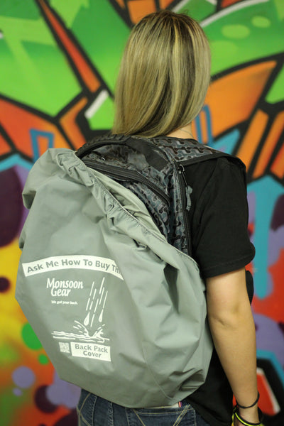 Monsoon Gear Backpack & Seat Cover