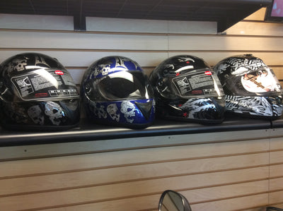 Specialty Decal Full Face Helmet