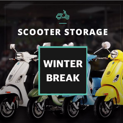 Winter Scooter Storage