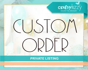 CUSTOM LISTING : REPRINT 45 Invitations