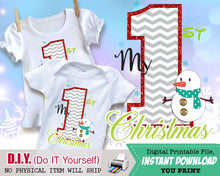 Joy Word Tree Christmas Outfit Iron On - Printable Transfers - Holiday Digital Decal for Shirts Baby Outfit INSTANT DOWNLOAD - CraftyKizzy