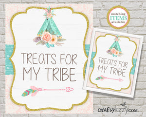 TEEPEE TREATS FOR MY TRIBE