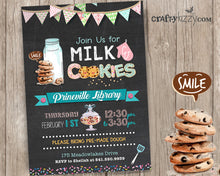Cookies and Milk Event Invitation - Cookie Party Invitations - JW School Break Gathering - Classroom Party Invitation - Play Date Party Invite LDS Children Event - Church Gathering - CraftyKizzy