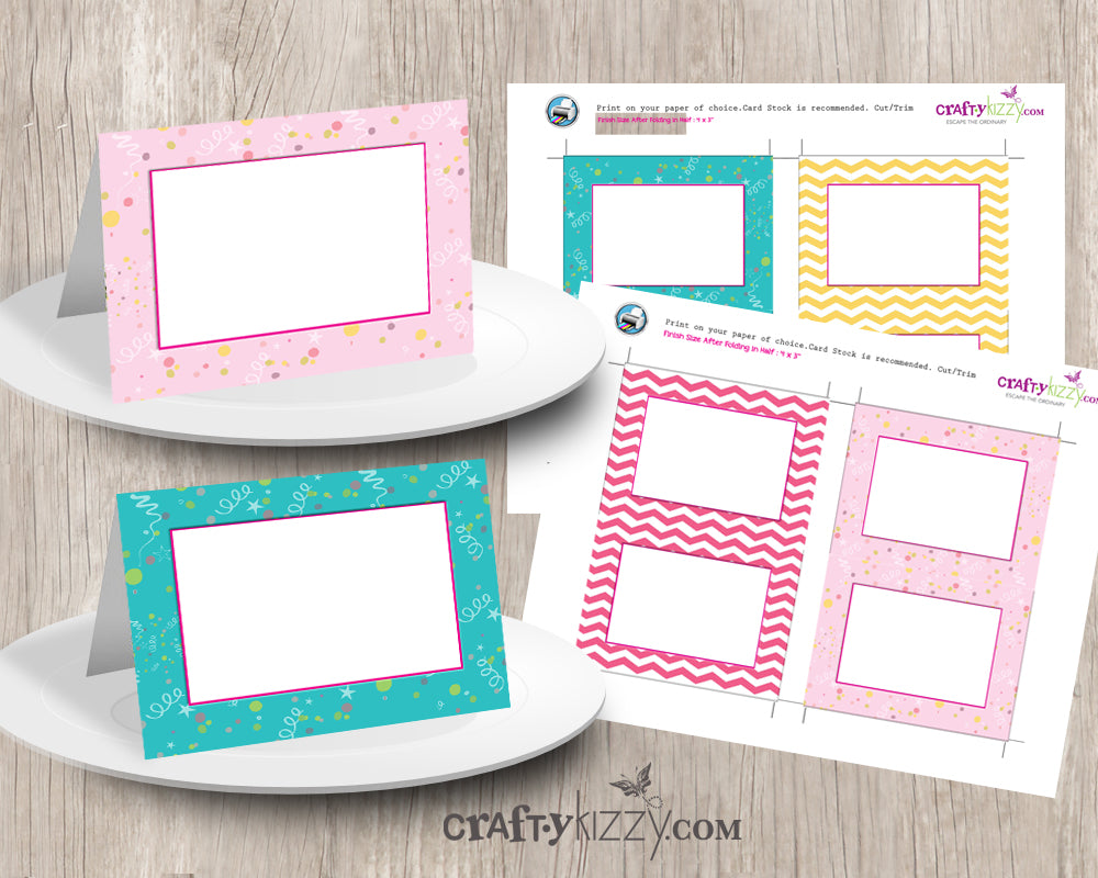 graphic relating to Printable Table Tents known as Lady Kid Shower Foods Tents - Do it yourself Yellow and Crimson Birthday Desk Tents - Printable House Playing cards 4x3 - Buffet Card - Quick Obtain