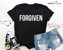 Forgiven Christian Tshirt For Women - Affirmations For Happiness Tshirt - Positive Energy Tee -  Prideful Shirt