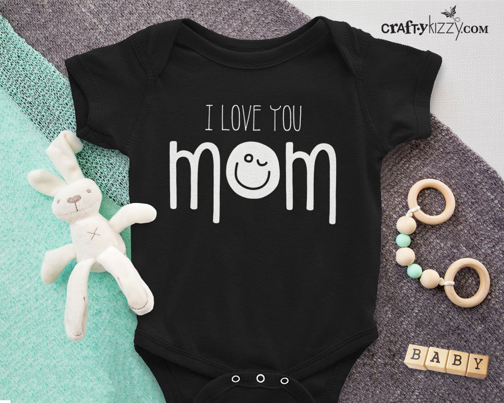 I love you emoji shirt for kids