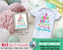 Baby's First 1st Christmas Maternity Shirts Iron On Printable - Baby Bump Unisex Outfit - INSTANT DOWNLOAD