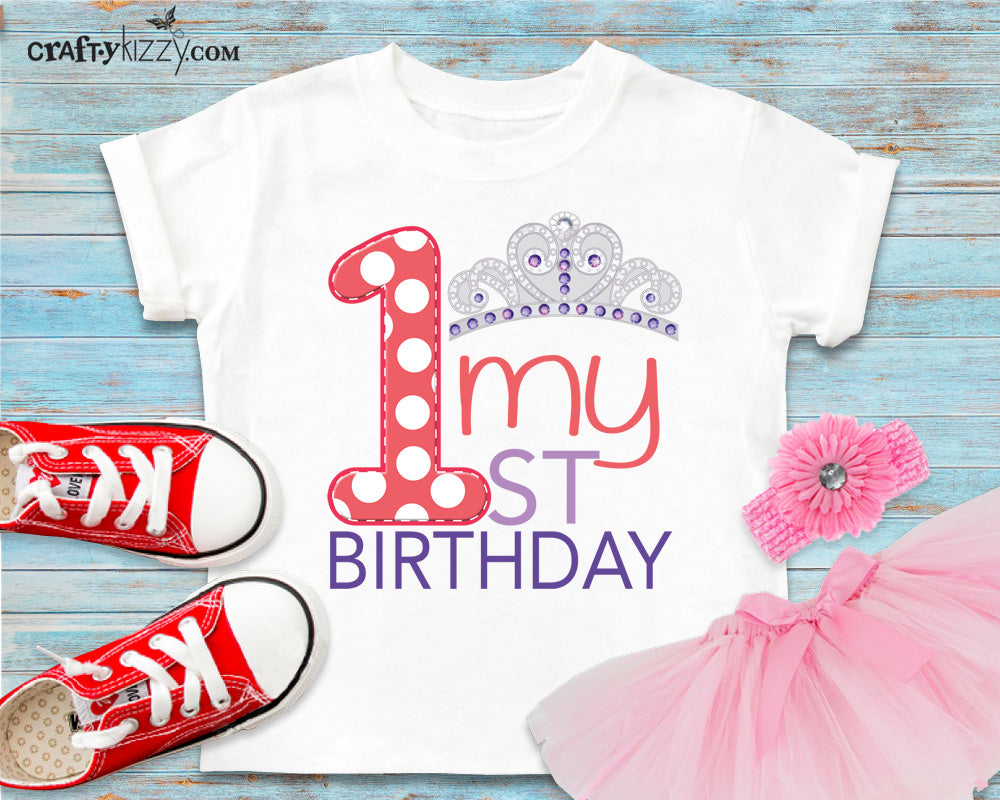little princess first birthday outfit