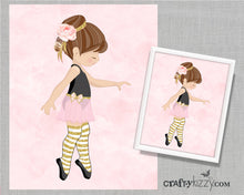 Boho Ballerina Dancer wall print