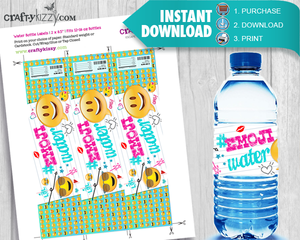 Emotional Water Bottle party favors