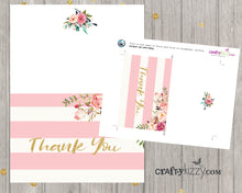printable bridal shower thank you card