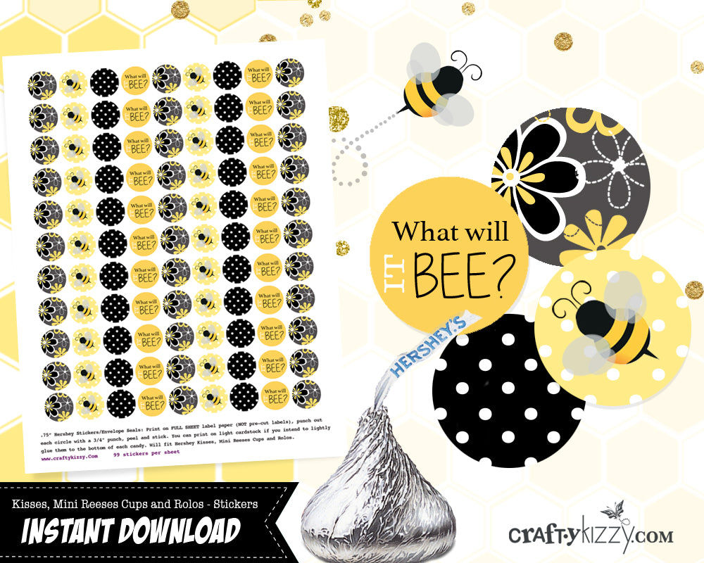 what will baby bee baby shower party favors