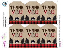 wilderness thank you tags