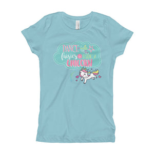 Youth Ride a Unicorn T-Shirt - Unicorn Tee - Dance With Fairies Ride a Unicorn Shirt Sizes XS-XL - CraftyKizzy